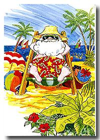 Santa-beach-greetings-s